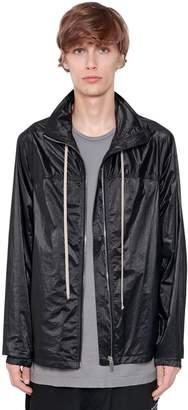 Rick Owens Hooded Zip-Up Windbreaker Jacket