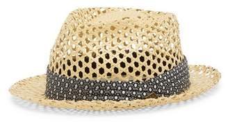 Goorin Bros. Cane Perforated Fedora Hat