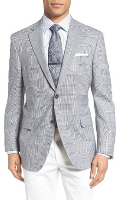 Men's Peter Millar Classic Fit Plaid Wool Sport Coat $595 thestylecure.com