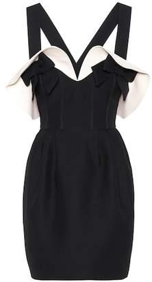Valentino Wool and silk crêpe dress