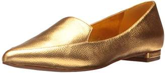 Nine West Women's Abay Metallic Pointed Toe Flat