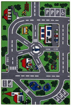 Fun Rugs Fun Time Streets Kids Rug Rug