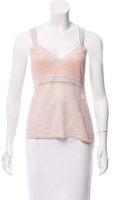 Missoni Silk V-Neck Top