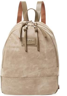 John Varvatos Suede Perforated Backpack