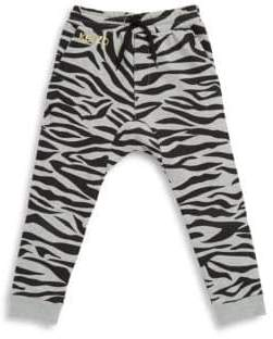 Kenzo Toddler's, Little Boy's & Boy's Zebra Jogger Pants