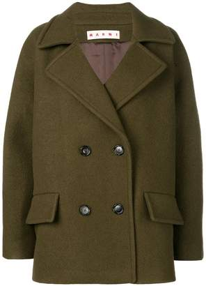 Marni classic double-breasted coat