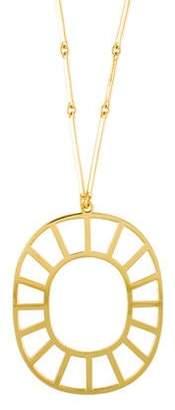 Arme De L'Amour Medallion Pendant Necklace