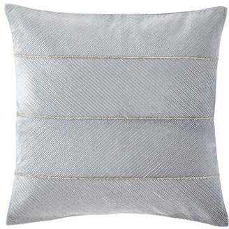 "Callisto Home Velvet Decorative Pillow, 22""Sq."