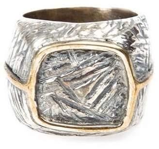 Tobias Wistisen bronze square ring