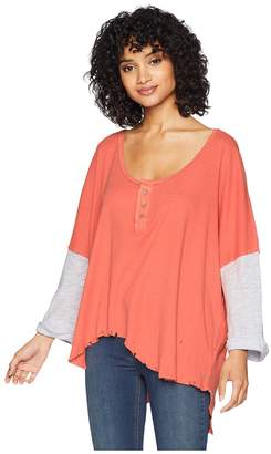 Free People Star Henley Women's Clothing