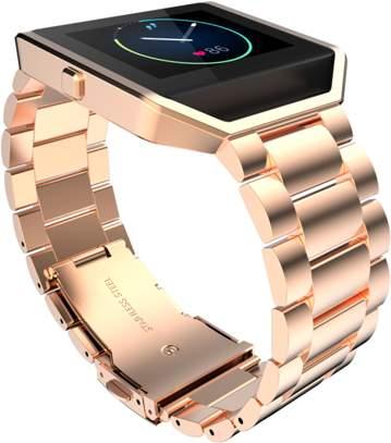 DZT1968 Stailess Steel Bracelet Strap Watch Band For Fitbit Blaze Smart Watch