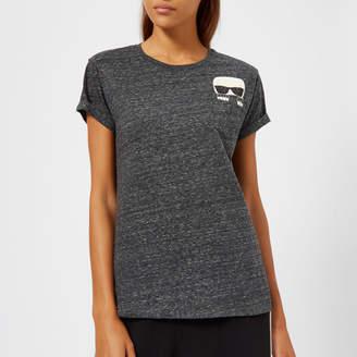 Karl Lagerfeld Women's Ikonik Pocket T-Shirt