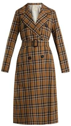 Max Mara S S Finanza Trench Coat - Womens - Tan Multi