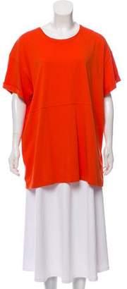 Victoria Beckham Short Sleeve Knit Top w/ Tags