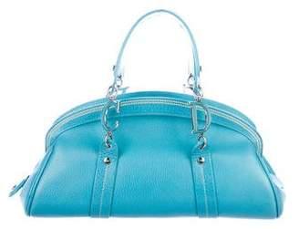 Christian Dior Leather Bowler Bag