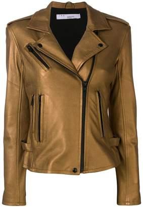 IRO lambskin biker jacket