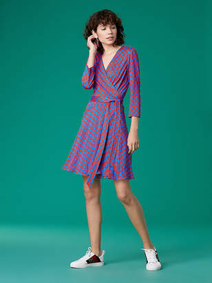 Diane von Furstenberg Irina Silk Jersey Wrap Dress