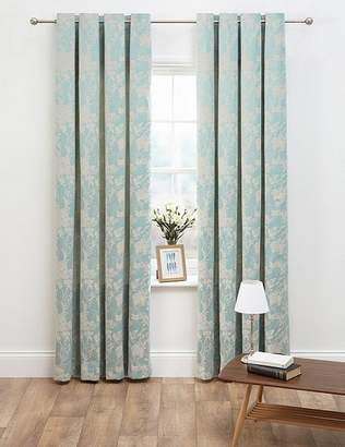 Marks and Spencer Floral Jacquard Curtains