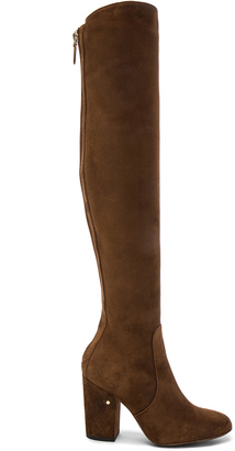 Laurence Dacade Suede Illusion Boots $1,240 thestylecure.com