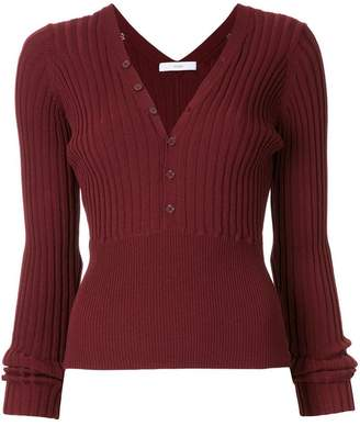 ASTRAET rib knit top