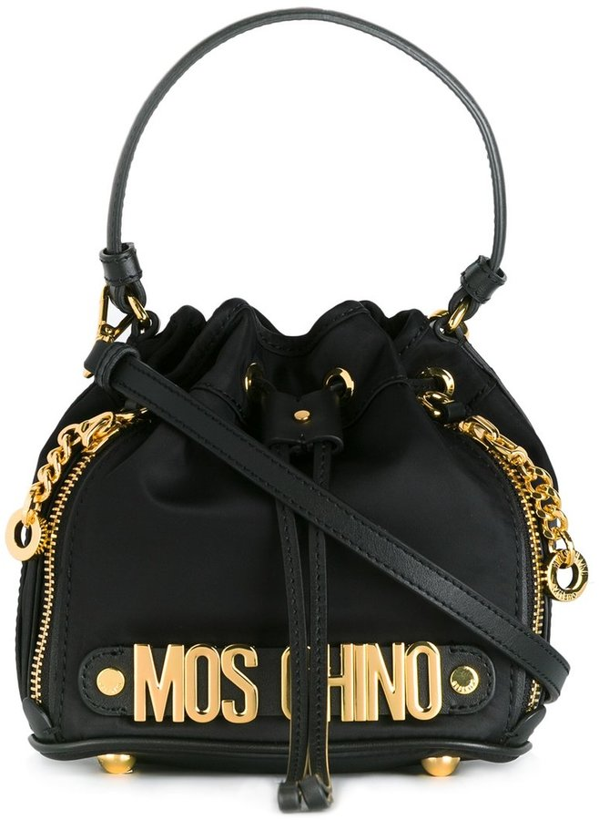 Moschino Moschino mini bucket tote