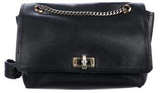 Lanvin Leather Flap Crossbody Bag