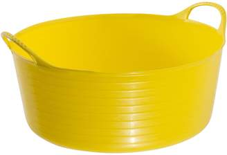Laundry by Shelli Segal Tubtrugs Kids Storage Multipurpose Flexible Shallow Tub, XX Yellow 15L