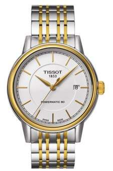 Tissot Mens Carson Two-Tone Automatic Watch