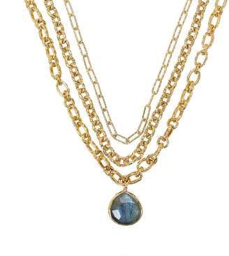 ela rae Layered Chain-Link Necklace