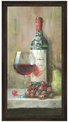 Asstd National Brand Vintage Wine I Framed Print