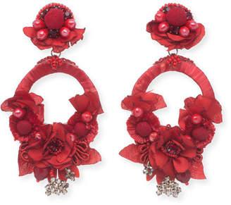 Ranjana Khan Posie Statement Earrings