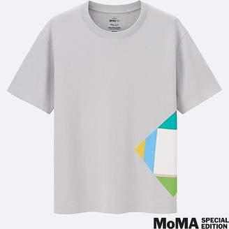 UNIQLO Men's Sprz Ny Super Geometric Graphic T-Shirt (max Bill) $14.90 thestylecure.com
