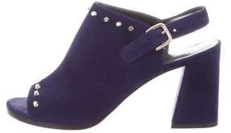 Stuart Weitzman Slingback Embellished Sandals