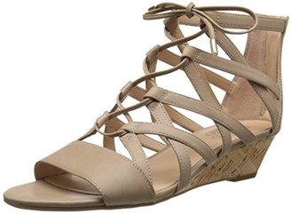 Franco Sarto Women's L-Brixie Wedge Sandal $89 thestylecure.com