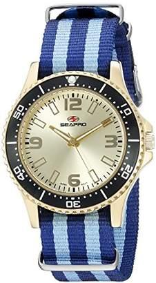 Seapro Women's SP5419NBK Analog Display Quartz Two Tone Watch