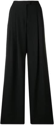 Giorgio Armani high-waist wide leg trousers