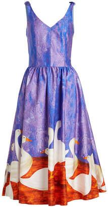Stella Jean Printed Cotton Dress