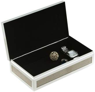 Bey-Berk Accent Silver-Plated Box