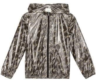 Fendi Kids MANIA printed raincoat