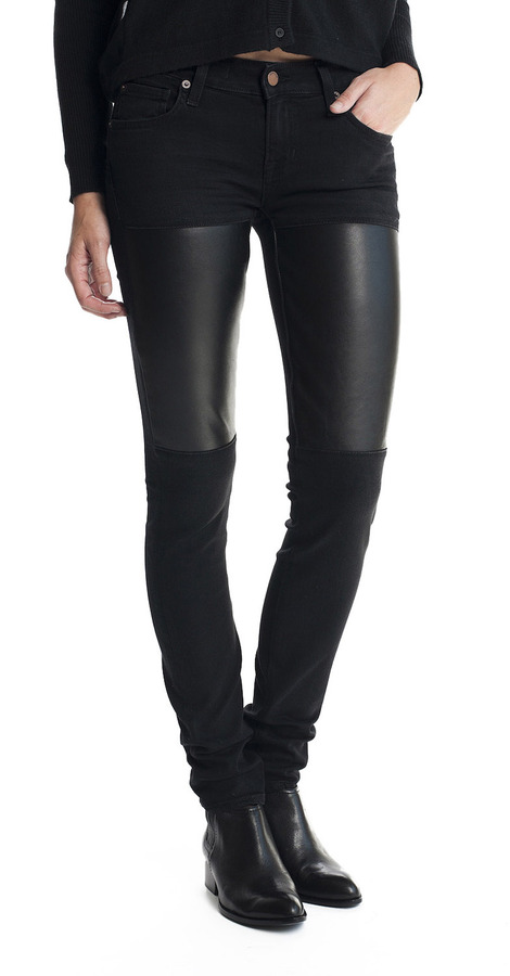 TEXTILE Elizabeth and James Jet Straight Leg Jeans