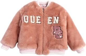 Dolce & Gabbana Faux Fur Bomber Jacket