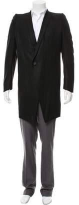 Julius Wool One-Button Overcoat