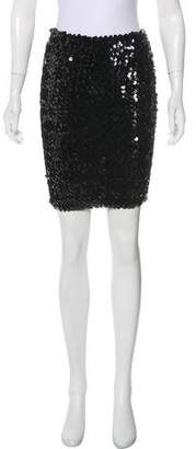 Sonia Rykiel Sequined Mini Skirt