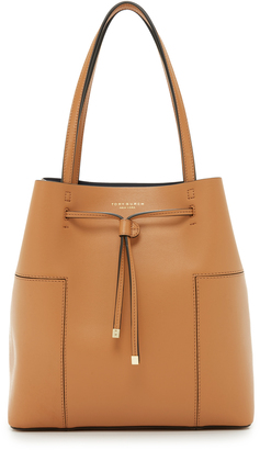 Tory Burch Block T Bucket Tote $425 thestylecure.com