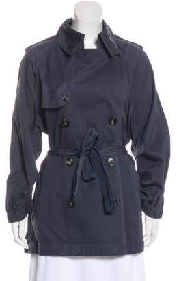 Lanvin Long Sleeve Trench Coat