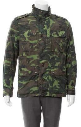 Moncler Lightweight Camouflage Jacket w/ Tags multicolor Lightweight Camouflage Jacket w/ Tags