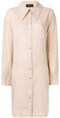 Joseph pointed collar shirtdress