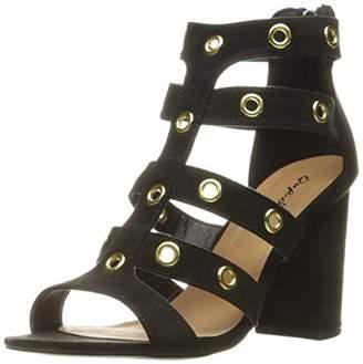 Qupid Women's Chester-19 Gladiator Sandal