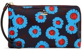 Kate Spade Floral-Print Coated-Canvas Wallet
