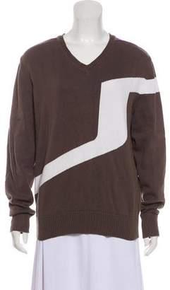 J. Lindeberg Colorblock Lightweight Sweater